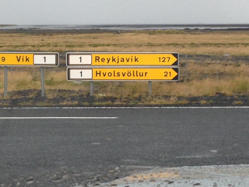 Iceland's route 1