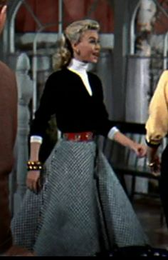bixs in depth look at the fashion in white christmas thats my bix - White Christmas Costumes